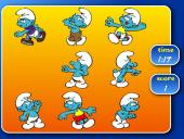 Sportoló törpök - Hupikék törpikék, smurfs játékok