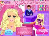 Barbie sminkel az órán