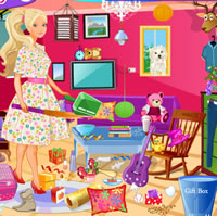 Barbie nappalit takarít